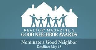 Good Neighbor Award Application