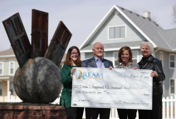 Southwest Iowa Association of REALTORS donates $1,000 to Dream Playground Re-Imagined