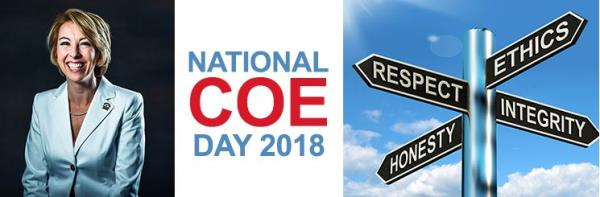 National Code of Ethics Day 2018 with Leigh Brown - Click Here for more information